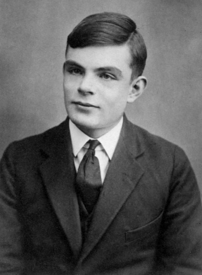 Alan Turing - 1928 (16 yaşında)