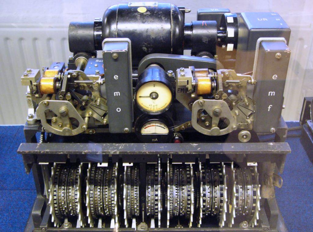 Lorenz SZ42. Bletchey Park Müzesi
