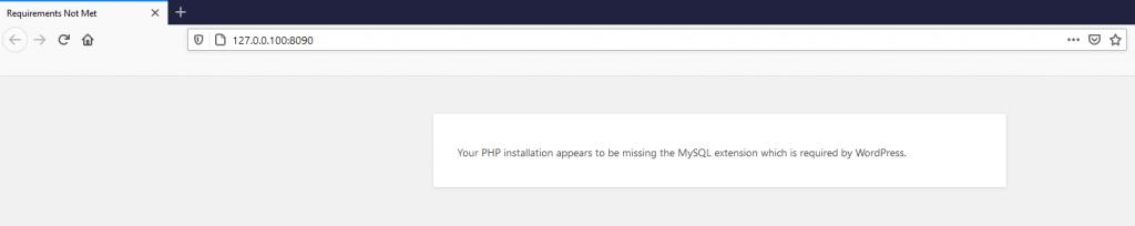 php mysql eklenti hatası
