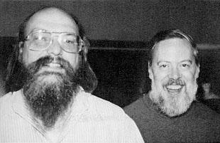 Ken Thompson ve Dennis Ritchie