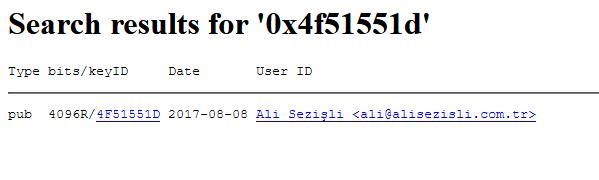MIT PGP Public Key Server