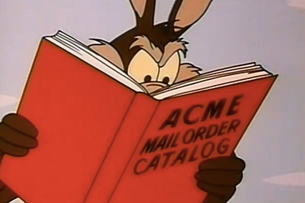 Warner Bros ACME. RTFM Coyote!